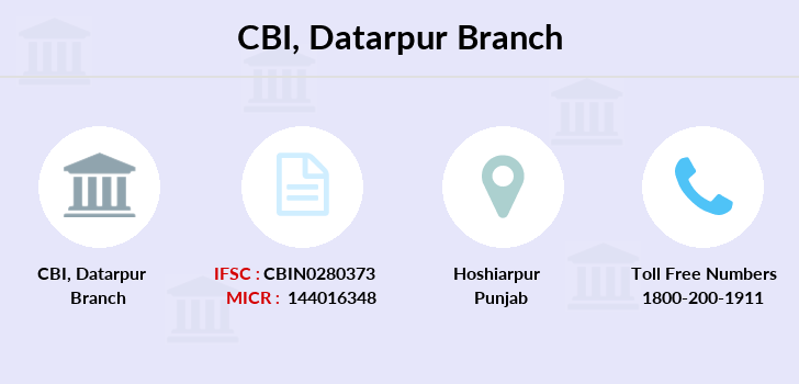 Central-bank-of-india Datarpur branch