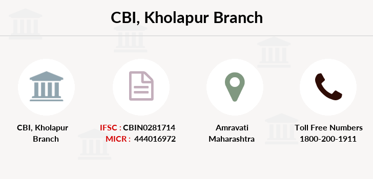 Central-bank-of-india Kholapur branch