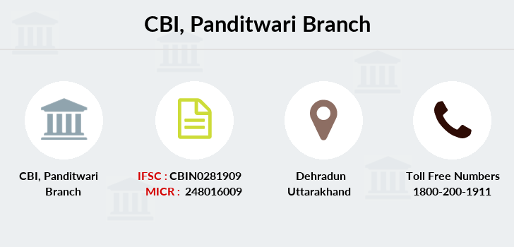 Central-bank-of-india Panditwari branch