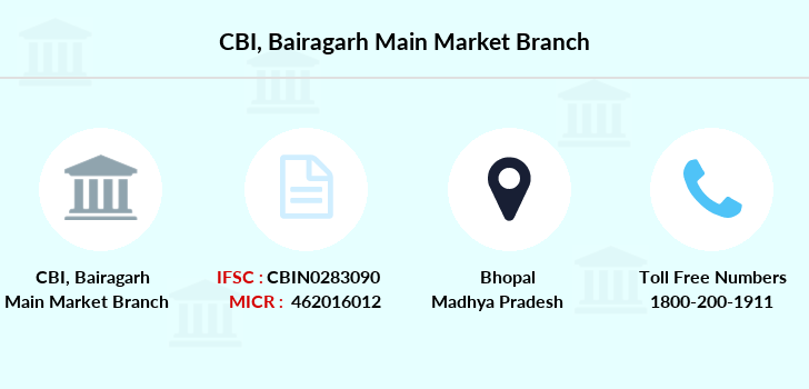 Central-bank-of-india Bairagarh-main-market branch