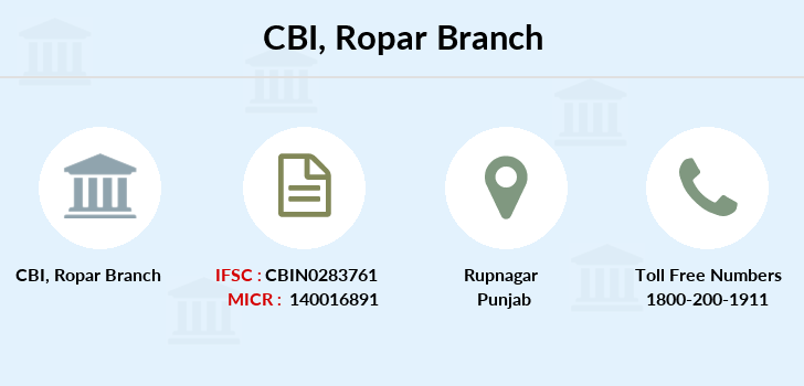 Central-bank-of-india Ropar branch