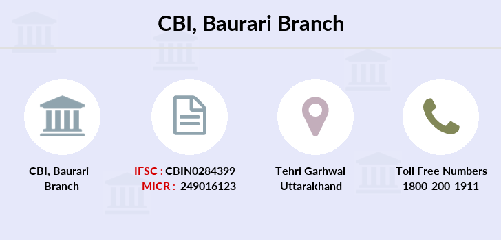 Central-bank-of-india Baurari branch