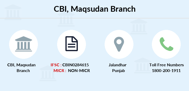 Central-bank-of-india Maqsudan branch