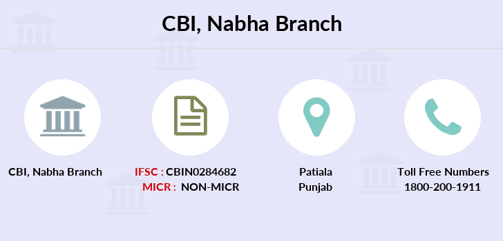 Central-bank-of-india Nabha branch