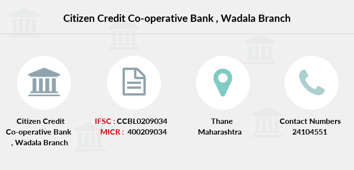Citizen-credit-co-op-bank Wadala branch