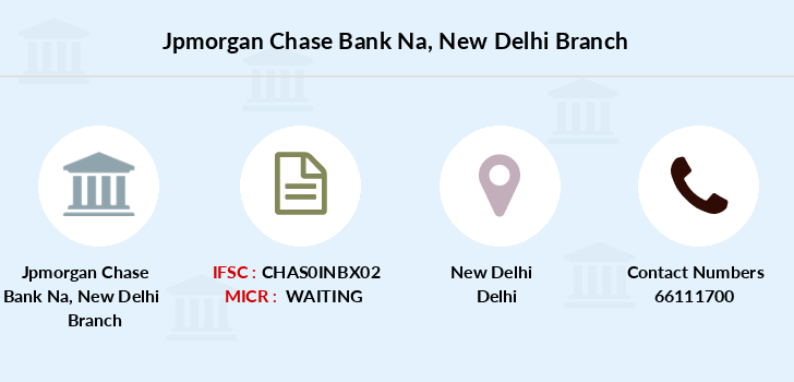 Jpmorgan-chase-bank-na New-delhi branch
