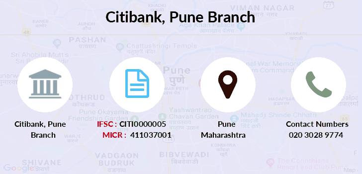 indian bank branches in pune city