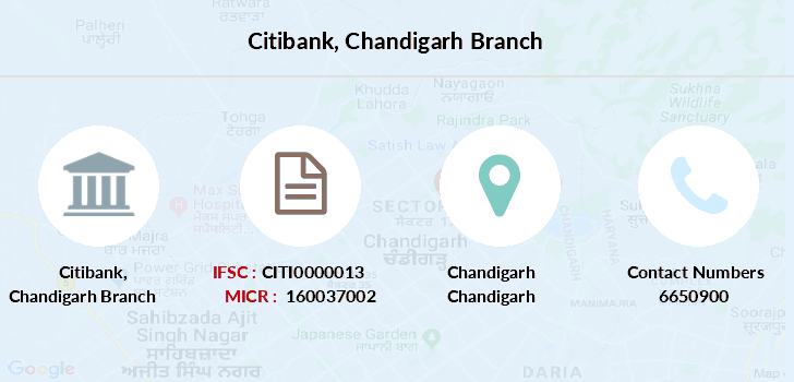 Citibank Chandigarh branch