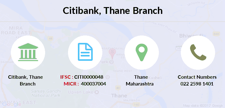 Citibank Thane branch