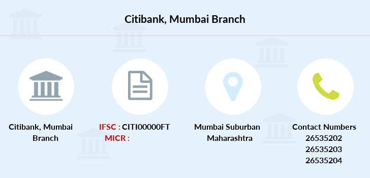 Citibank Mumbai branch