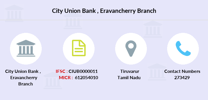 City-union-bank Eravancherry branch