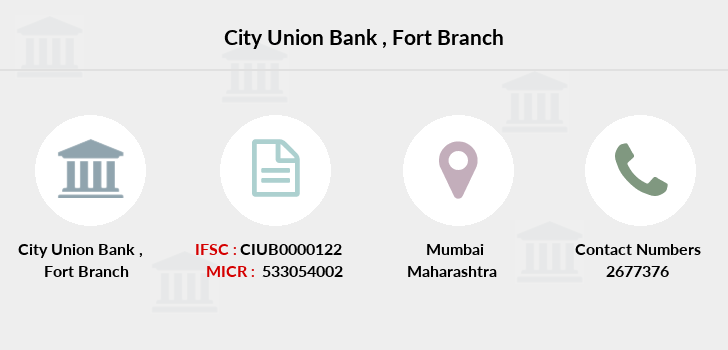 City-union-bank Fort branch