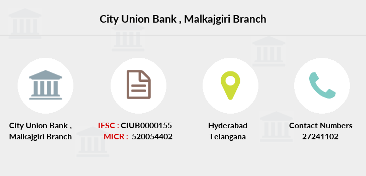 City-union-bank Malkajgiri branch