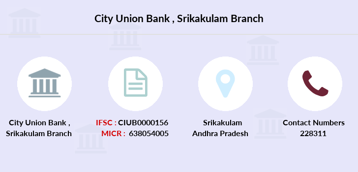 City-union-bank Srikakulam branch
