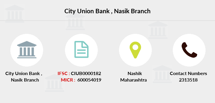City-union-bank Nasik branch