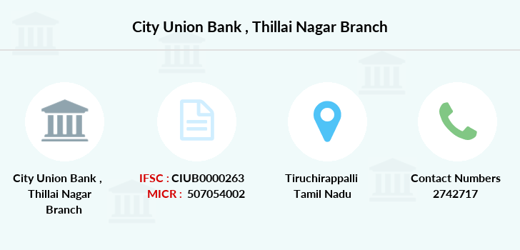 City-union-bank Thillai-nagar branch