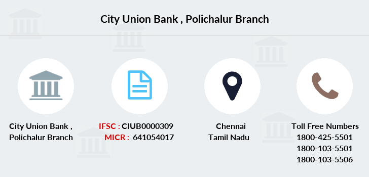 City-union-bank Polichalur branch