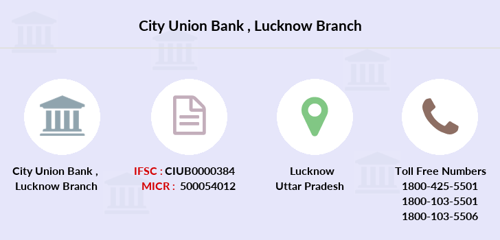 City-union-bank Lucknow branch