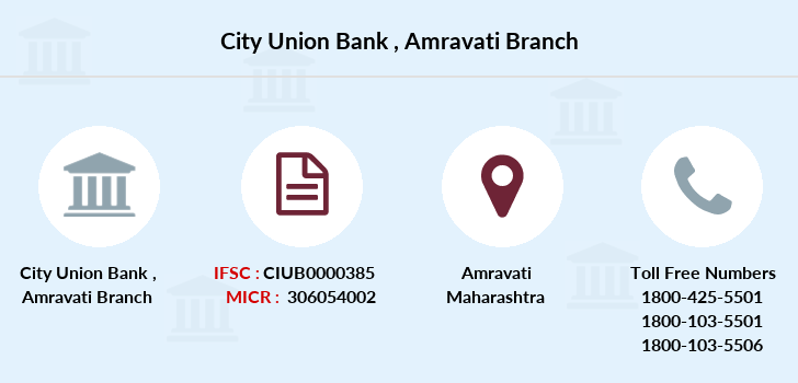 City-union-bank Amravati branch