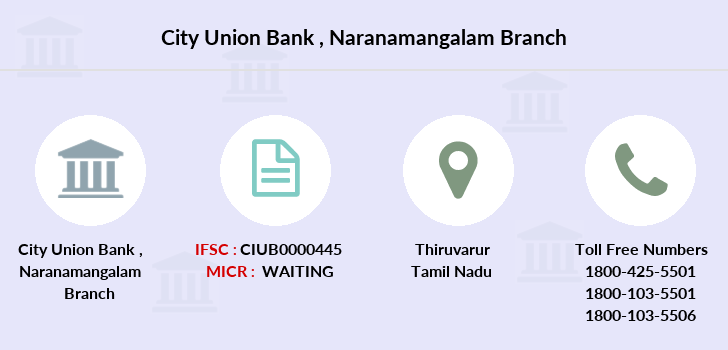 City-union-bank Naranamangalam branch