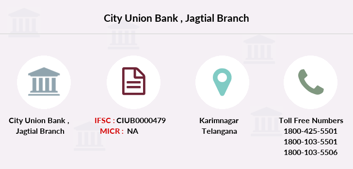 City-union-bank Jagtial branch