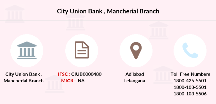 City-union-bank Mancherial branch