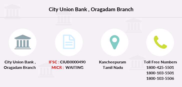 City-union-bank Oragadam branch