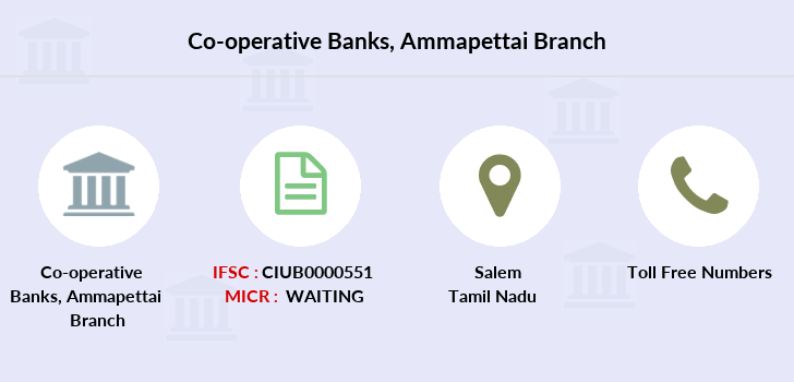 Co-operative-banks Ammapettai branch
