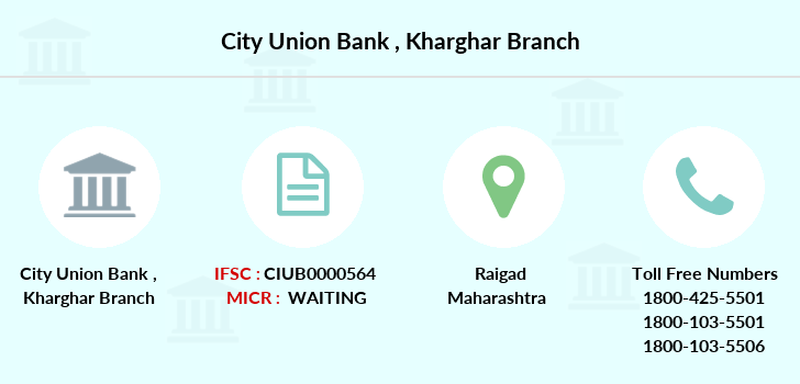 City-union-bank Kharghar branch