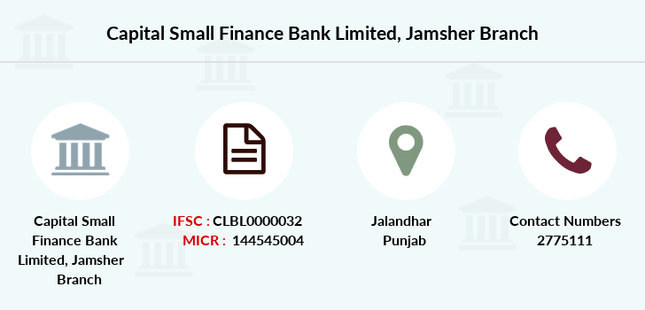 Capital-local-area-bank Jamsher branch