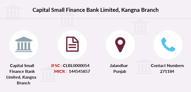 Capital-local-area-bank Kangna branch