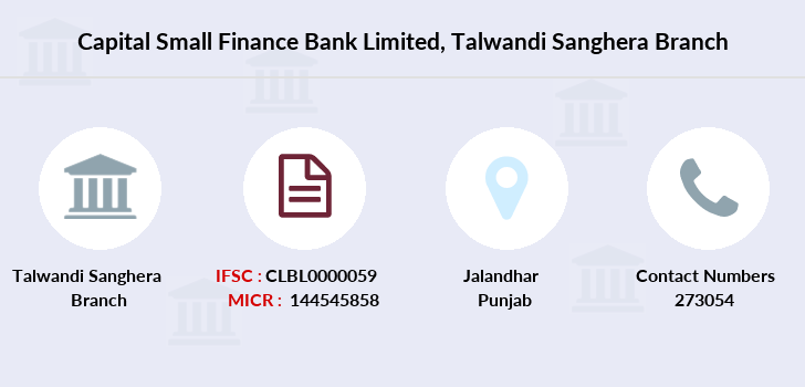 Capital-local-area-bank Talwandi-sanghera branch