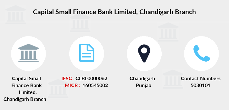 Capital-local-area-bank Chandigarh branch