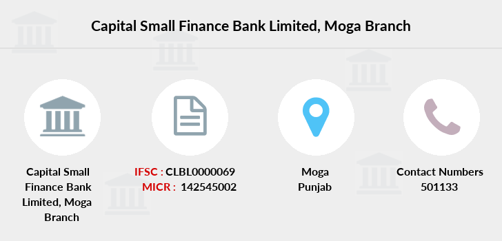 Capital-local-area-bank Moga branch