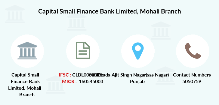 Capital-local-area-bank Mohali branch