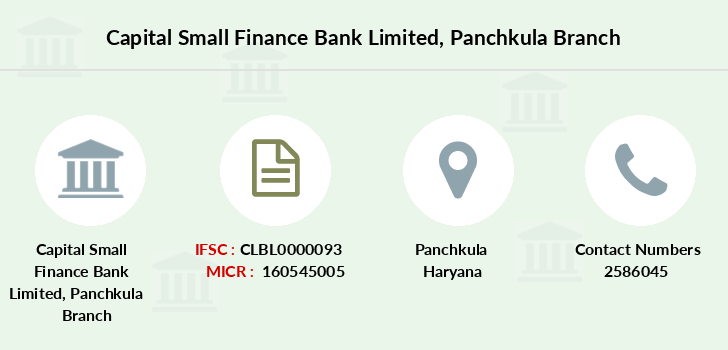 Capital-local-area-bank Panchkula branch