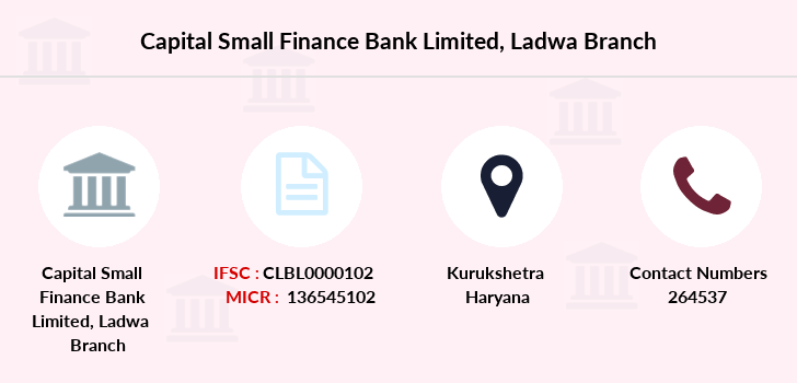 Capital-local-area-bank Ladwa branch