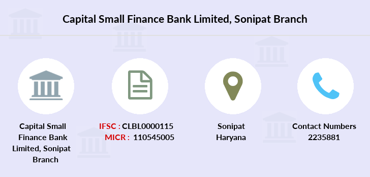 Capital-local-area-bank Sonipat branch