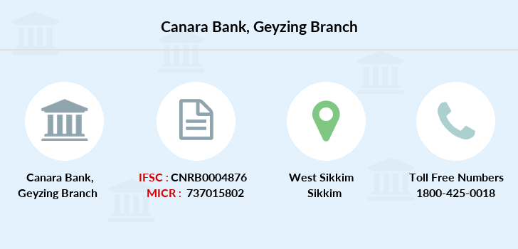 Canara-bank Geyzing branch