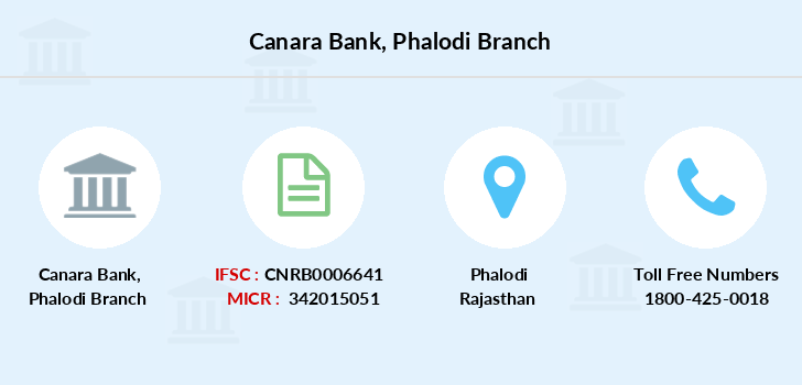 Canara-bank Phalodi branch