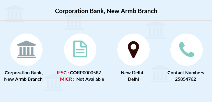 Corporation-bank New-armb branch