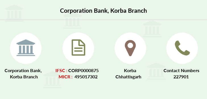 Corporation-bank Korba branch