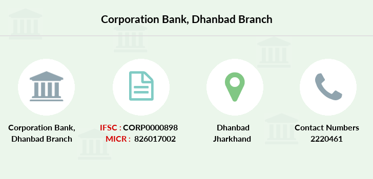 Corporation-bank Dhanbad branch