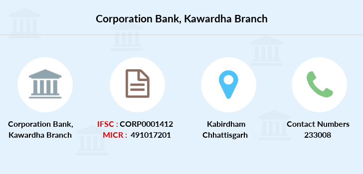 Corporation-bank Kawardha branch