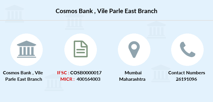 Cosmos-co-op-bank Vile-parle-east branch