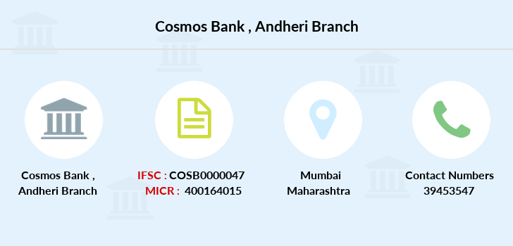 Cosmos-co-op-bank Andheri branch