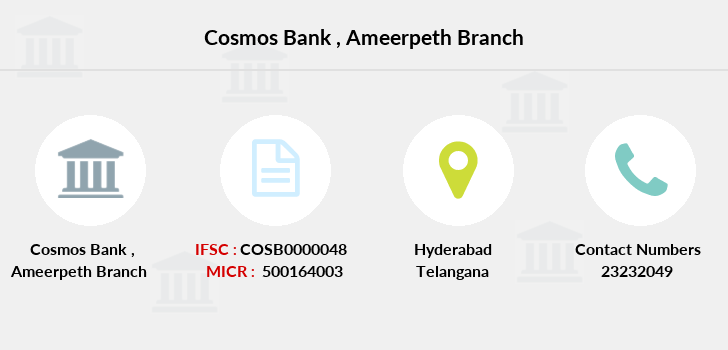 Cosmos-co-op-bank Ameerpeth branch