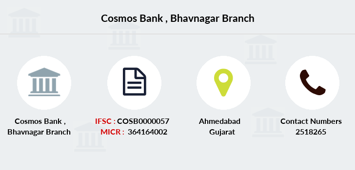 Cosmos-co-op-bank Bhavnagar branch