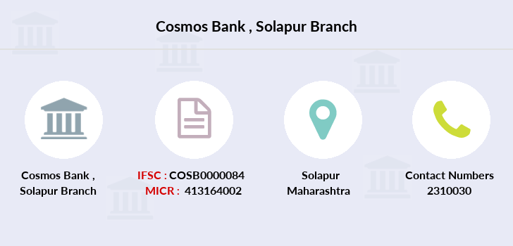 Cosmos-co-op-bank Solapur branch
