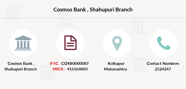 Cosmos-co-op-bank Shahupuri branch